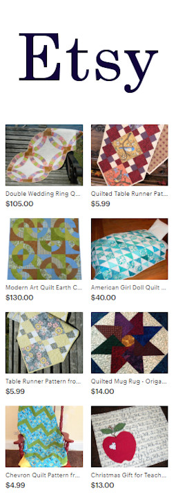 GloryQuilts Etsy